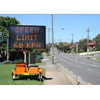 China P10 Electronic Led Traffic Signs Single Color Waterproof IP65 on sale