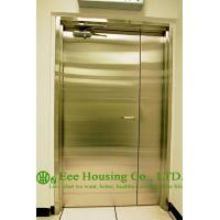 Buy cheap Chemical Resistant Stainless steel 90 min fire rated industrial hinged door from wholesalers