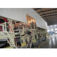 Buy cheap Complete Automatic Carton Box Making Machine , Cardboard Manufacturing Plant ISO 9001 Listed from wholesalers