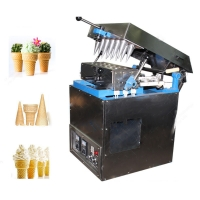 Buy cheap Beverage Factory Semi Automatic Ice Cream Cone Machine from wholesalers