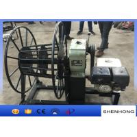 Buy cheap 5 Ton Gasoline Engine Wire Rope Take Up Pulling Winch for Stringing Rope from wholesalers