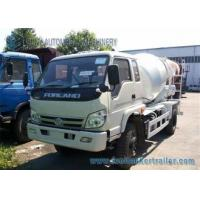 Buy cheap Right Hand Drive Forland 4 M3 cement mixer lorry 130 Hp Euro 3 Engine from wholesalers