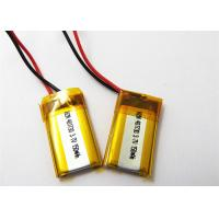 Buy cheap Rechargeable 401730 3.7 V 150mah Lipo Battery , Bluetooth Headset Battery Replacement from wholesalers