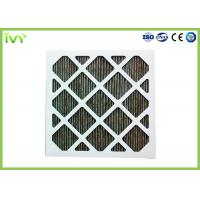 Buy cheap Folded Activated Carbon Air Filter High Carbon Content With Aluminum Mesh Face product