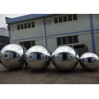Buy cheap Advertising Mirror Helium Balloon And Silver Mirror Ball Inflatable For Party from wholesalers