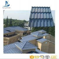 Buy cheap Decras Roof Tile, Cheap High Quality Stone Coated Metal Roof Tile from wholesalers