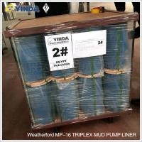 Wholesale Weatherford MP-16 Triplex Mud Pump Liner Chromium 26-28% High Chromium Alloy Inner from china suppliers