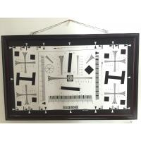 Wholesale Camera test chart 2000 lines iso 12233 standard test chart for resolution, MTF, TV line test from china suppliers