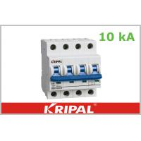 Buy cheap Breaking capacity:10 KA  1P 1P+N 2P 3P 3P+N 4P MCB  Mini Circuit Breaker , High Short Circuit & overload Capacity from wholesalers