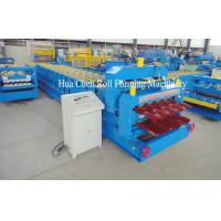 Buy cheap High Frequency Double Layer Glazed Tile Roll Forming Machine With 15 / 21 Rows product