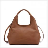 Buy cheap Top Grain Leather Hobo Bags  Women Handbags Cowhide Single Shoulder Bags from wholesalers