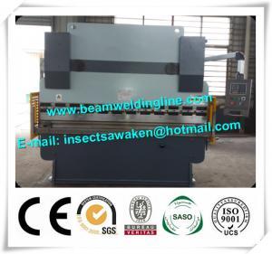 CE Hydraulic Press Brake Machine 6100 * 2500 * 4200 CNC Steel Sheet Bending Machine Manufactures