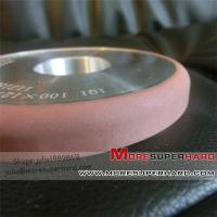 Buy cheap 1Q1 shape resin diamond grinding wheel for tungsten carbide from wholesalers