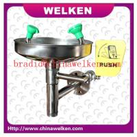 Buy cheap New Arrival Stainless Steel Emergency Wall Mounted Eyewash Station from wholesalers