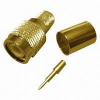 Buy cheap TNC Male Crimp Connector, Made of Brass, Suitable to LMR400/RG213 Cable from wholesalers
