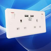 Buy cheap Home automation system wifi australian wall usb sockets from wholesalers
