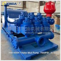 Wholesale 3NB1600H Triplex Mud Pump Components 7500PSI For Drilling Rigs 458 SPM from china suppliers