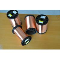 Buy cheap Polyurethane Enameled Round Copper Wire 1UEW With High Electrical Conductivity from wholesalers