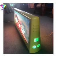 Buy cheap Outdoor Taxi Top Advertising Signs Double Sided P4 Full Color 4G WiFi Car Top Display from wholesalers
