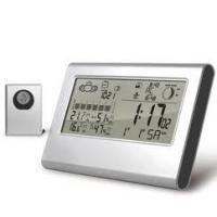 Buy cheap Double alarm,Snooze,DST Indoor Digital Thermometers,Day of Week Display in 7 Languages from wholesalers