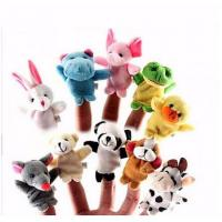Buy cheap Professional Interactive Family Finger Puppets Stuffed Plush Cloth Doll from wholesalers