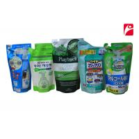 Buy cheap Liquid Plastic Zipper Bags With Zipper Ny / Pe laminated Packaging Anti - Counterfeit from wholesalers