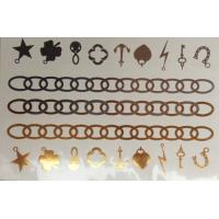 Buy cheap Gold Foil Temporary Tattoos,custom gold tattoo sticker from wholesalers