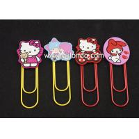 Wholesale Metal Cartoon stationery Accessories Marvel Bookmarks with Clips for paper files from china suppliers