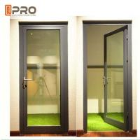 Buy cheap High Strength Durable Aluminium Hinged Doors With PVDF Surface Treatment from wholesalers