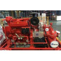 Buy cheap Customized Diesel Fire Sprinkler Pumps / Red High Pressure Fire Fighting Pumps from wholesalers