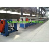 Small EPDM Rubber Extrusion Line 30-40 Cubic Meter For Air Conditioner Insulation Foam Pipe Manufactures