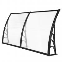 Buy cheap Windproof Robot Mower Garage , Glass Door Canopy Awning Rain Shelter from wholesalers