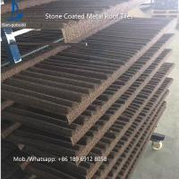Buy cheap China Low Price Stone Coated Metal Roof Tile / Roof Shingle / Decras Roofing Sheet from wholesalers