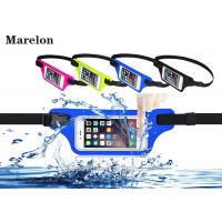 Buy cheap Sport LED Waterproof Running Belt / Elastic Waist Belt Tool Bag With Touchable Window from wholesalers
