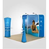 China Stretch Fabric Trade Show Displays Retractable Banner Stands 8ft 10ft 20ft on sale
