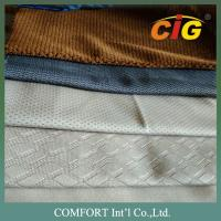 100% Polyester Tricot Soft Jacquard seat upholstery fabric with Many Colors And Design upholstery fabric for cars Manufactures