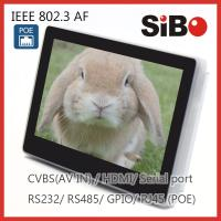 Buy cheap Q896 7 Inch In Wall Android Power Over Ethernet Tablet PC With GPIO from wholesalers