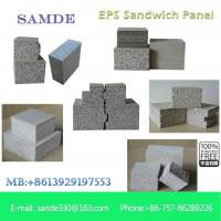 Buy cheap Construction materials Precast concrete structures lightweight wall panel 2440*610*75mm from wholesalers