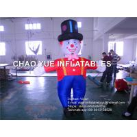 Buy cheap 3 M Inflatable Advertising Products Inflatable Replicas Clown With CE / UL Blower from wholesalers