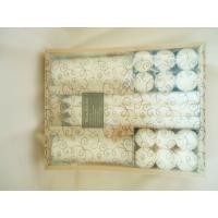 Wholesale Pillar, White Scented Candle Gift Sets for Ornament, Souvenir from china suppliers