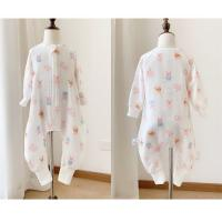 Buy cheap Fashionable Soft Muslin Baby Pajamas Romper Bodysuit 100% Cotton For Toddler from wholesalers