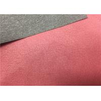 Buy cheap High Peeling Strength Shoes Synthetic Leather Dark Red 0.55 Mm Thickness No Fading from wholesalers