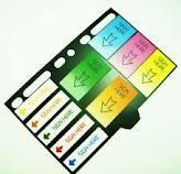 Buy cheap Recyclable Customizable Printed memo Sticky Note Pads For Page Marker, index from wholesalers