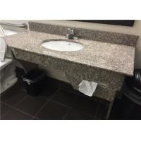 """Wholesale G664 Bainbrook Brown Granite Vanity Tops 49"""" With Apron And Tissue Hole from china suppliers"""