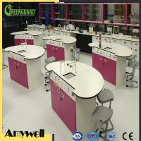 Buy cheap ISO 9001 matte surface wearproof formica laminate Lab Worktop from wholesalers