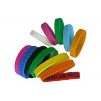 Buy cheap Logo Printing Promotional Gift Silicone Rubber Bracelet For Boys And Girls from wholesalers