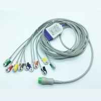 Buy cheap Reusable EKG Alligator Clips , Compatible Mindray 3.6M 10 Lead ECG Cable from wholesalers