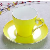 Buy cheap 2018 new items Certifiction 3513 bone china colors hot plates for coffee cups ash 45% hot plates for coffee mug from wholesalers