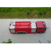 Buy cheap 6x2 Drive Water Tanker Fire Truck Full Load Quality 26000kg Engine Power 270HP from wholesalers