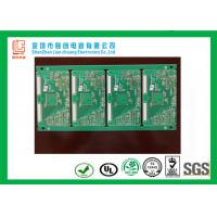 Buy cheap OSP fast pcb manufacturer green soldermask , quick turn circuit boards from wholesalers